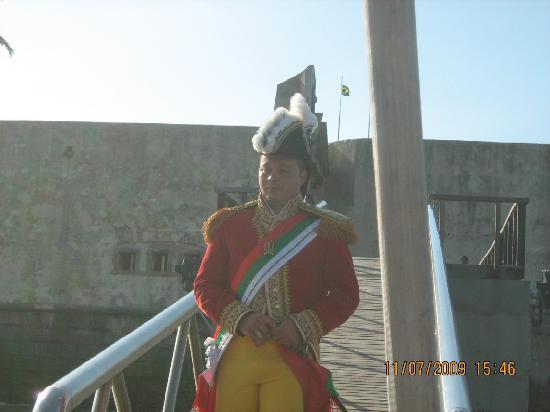 Sao Marcelo (do Mar) fort : O príncipe