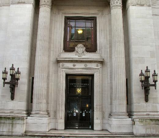 Freemasons' Hall: Great Queen Street entrance