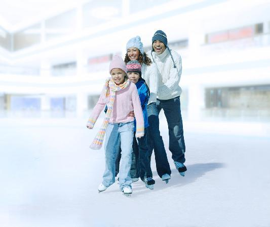 Hyatt Regency Dubai: Skate on ice at the Ice Rink situated in the hotel