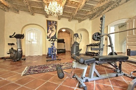 Alchymist Prague Castle Suites: Gym