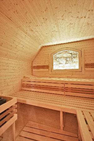 Alchymist Prague Castle Suites: Sauna