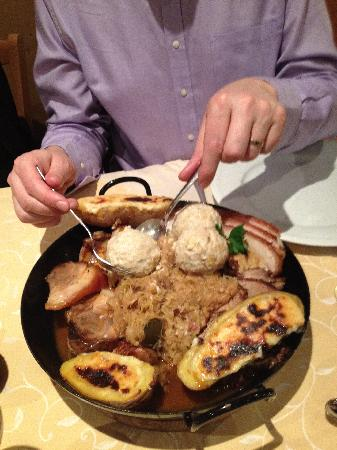 Berghotel Pointenhof: Pointenhof, the signature Tyrolean dish, very tasty