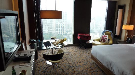 The Langham Shanghai Xintiandi: Room from 25th Floor