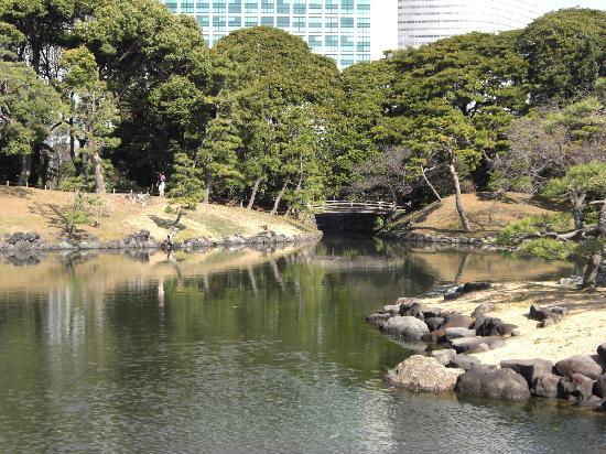 Jardines Hama Rikyu: 庭園