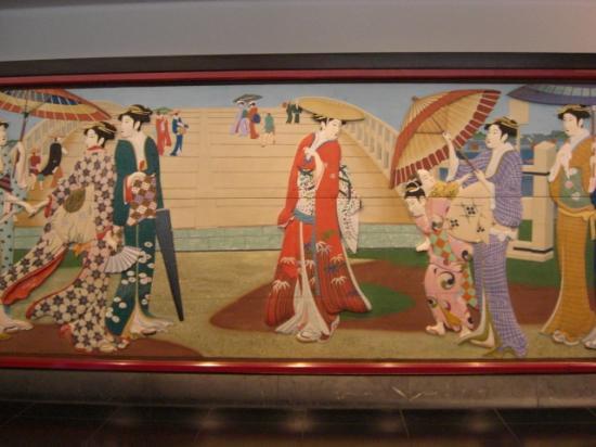 Meguro Gajoen : 壁の絵