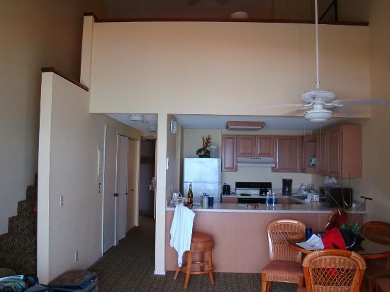 Pono Kai Resort: PonoKai View Of Loft From Living Room