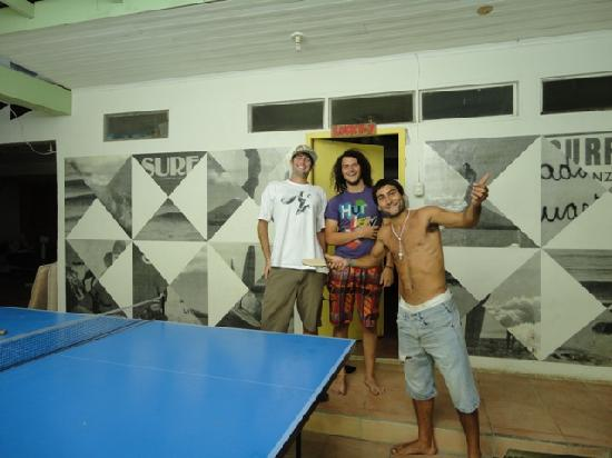 Hostel Pachamama: Ping Pong en el pachamama