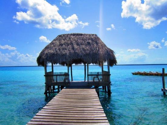 Villas Ecotucan: The dock