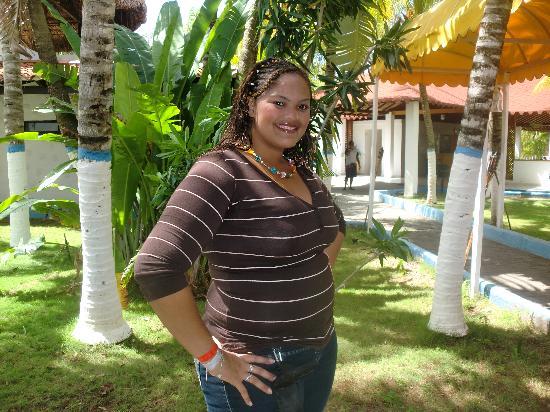 Hotel Puerta Del Sol Playa El Agua: en el jardin del hotel puertas del sol playa el agua