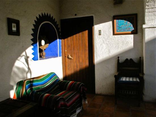 El Angel Azul Hacienda: Quiet corners.