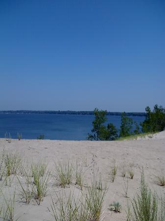 Edgewater Family Campground: The dunes