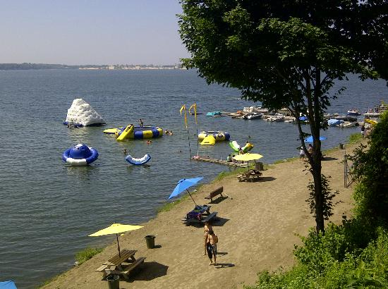 Edgewater Family Campground : The water park
