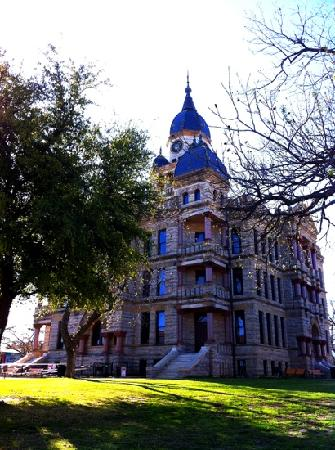 Courthouse-on-the-Square Museum: Denton County Courthouse-on-the-Square in early spring. It is just beautiful!