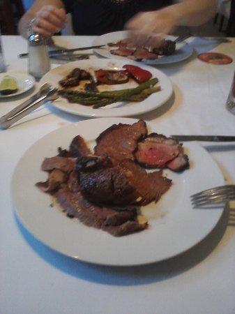 Bovino's Churrascaría: Bovino's meat cuts... heavenly!