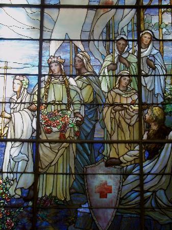 American Red Cross Museum: 1 of 3 Tiffany Windows