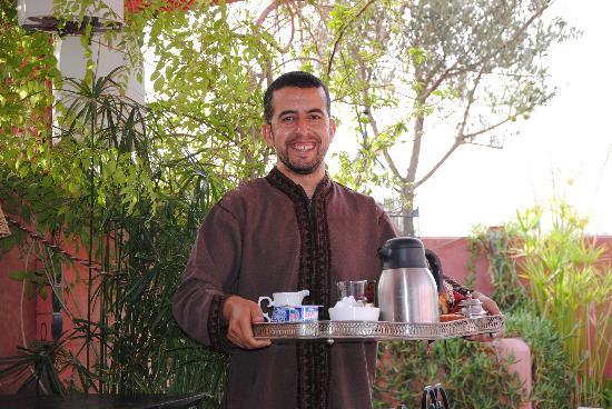 Riad La Terrasse des Oliviers: Le sourire du matin