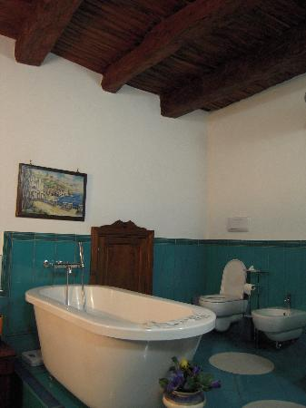 Bed and Breakfast Adelberga: il bagno 1