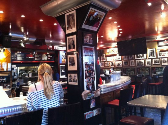 Interior of Bugsy's