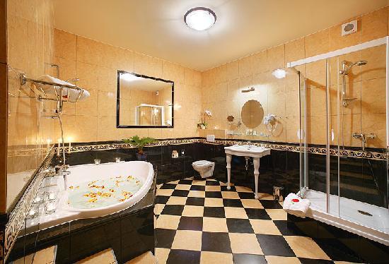 Hotel Zlaty Andel: Bathroom Suite 28
