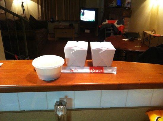 restaurant o wok : $37