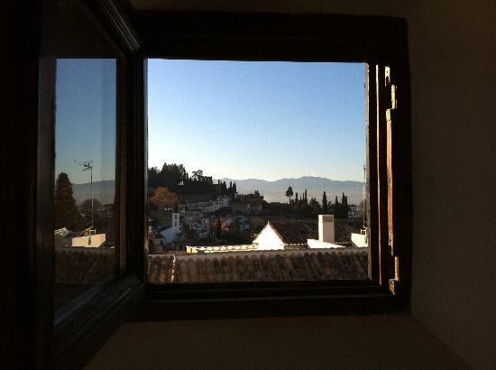 Casa del Aljarife - Granada: view from the window