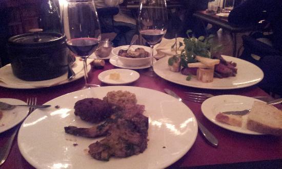 Bordewijk : visión general de los platos principales: que no se quede nadie con hambre.