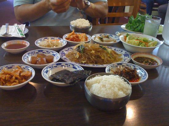 Korea House : banchan