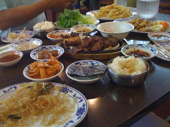 Korea House : lunch