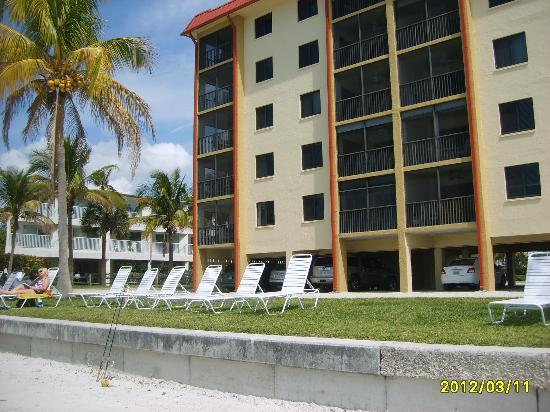 Seaside An All-Suite Resort: view from beach