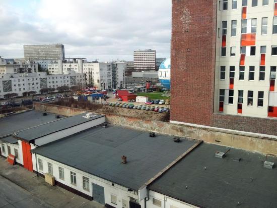 Hotel Gat Point Charlie: Hinterhof