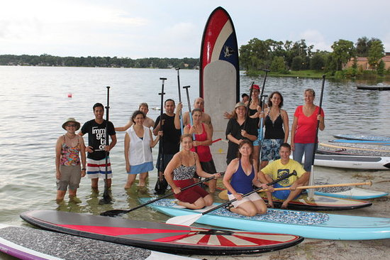 Paddleboard Orlando: Big or small group as no problem with PBO!  We have up to 30 boards of all sizes.