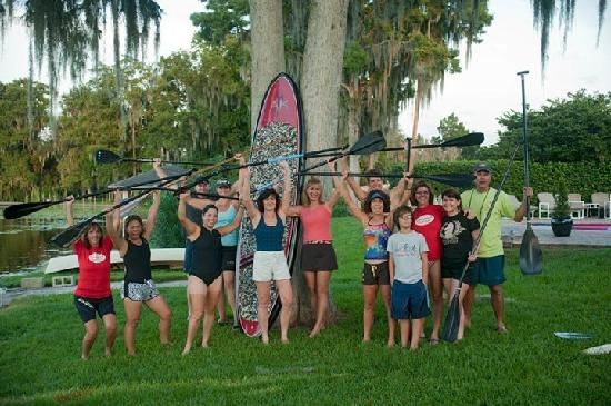 Everyone loves Stand up Paddleboarding and Paddleboard Orlando