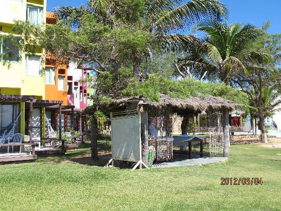 Prodigy Beach Resort Marupiara: massagem pra relaxar!