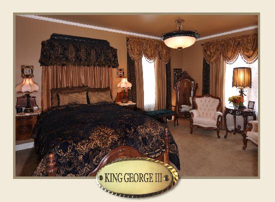 The Aerie Bed and Breakfast : King George III at The Aerie Bed & Breakfast