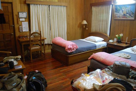 Hill Top Villa Resort Kalaw: le camere doppie standard
