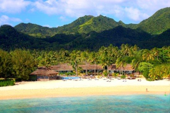 Arorangi, Kepulauan Cook: Manuia Beach Hotel