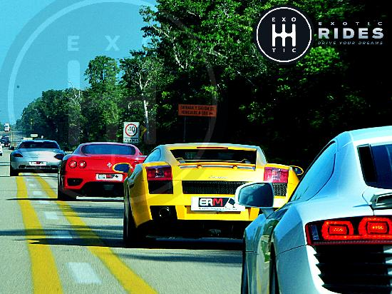 Exotic Rides Mexico: Drive Exotic Cars on the Road at the Riviera Maya