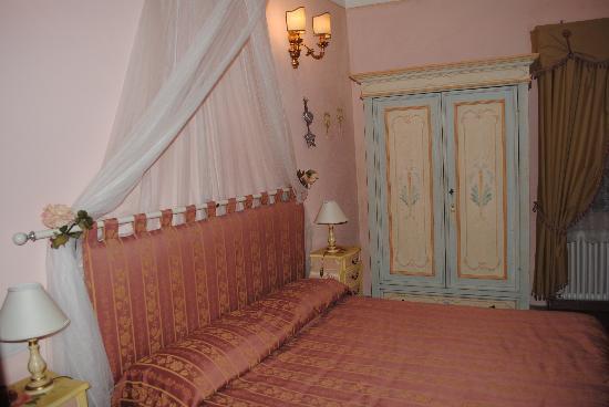 Il sogno del musicista: camera da letto