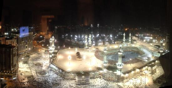 Al Marwa Rayhaan by Rotana-Makkah: Kaaba View from the Room
