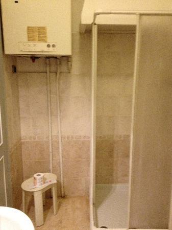 Hotel Charleston: Our bathroom