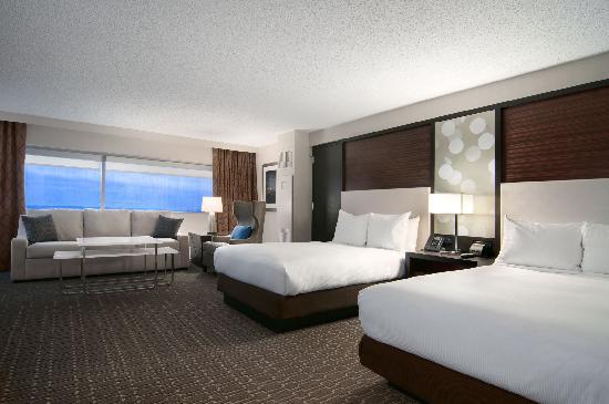 Hilton Atlanta Airport: Double Junior Suite