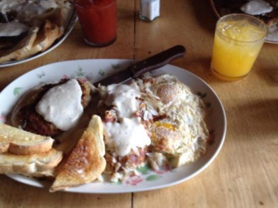 Country Lane RV Resort: Breakfast