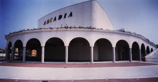 Cinema Arcadia (Melzo) : ARCADIA back view, daytime