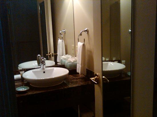 Magnolia Hotel Omaha: Bath 2