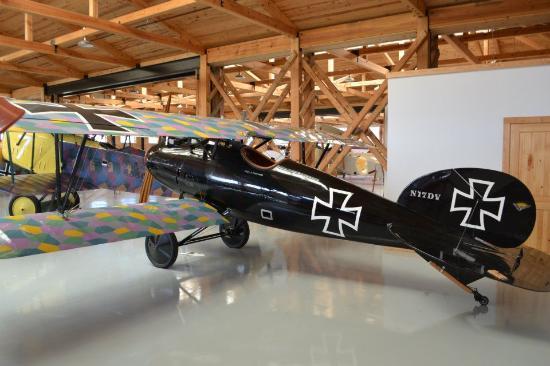 Military Aviation Museum Lot Of Planes In Wwi Era Hangar