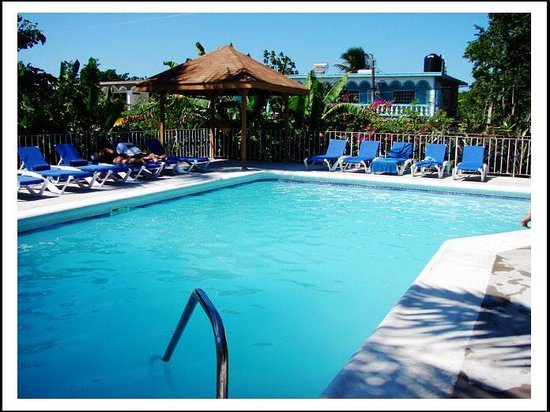 Seastar Inn: The pool with a swim up bar
