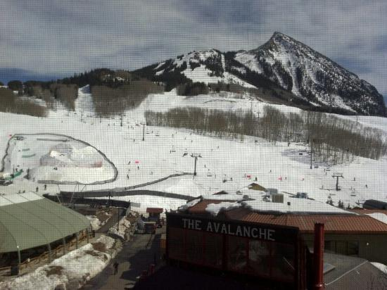 Lodge at Mountaineer Square: View from room 511