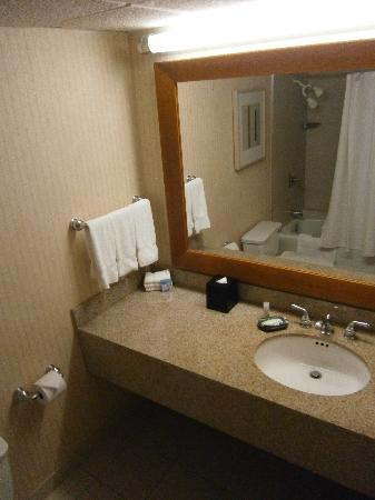 Westin Galleria Houston Hotel: Vanity in bathroom