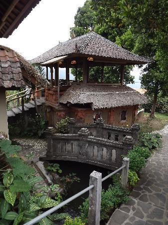 Puri Lumbung Cottages: Parc