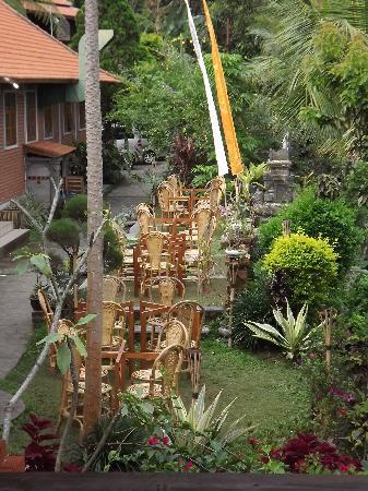 Puri Lumbung Cottages: restaurant